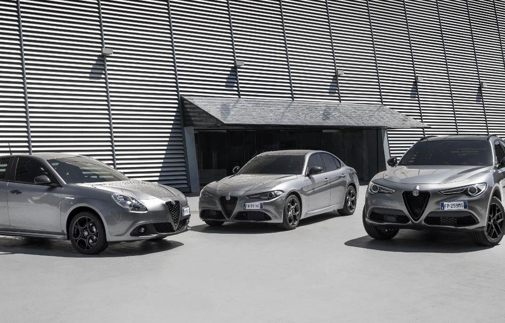 Alfa Romeo Nero Edizione: constructorul italian a lansat o ediție specială pentru Giulia, Stelvio și Giulietta - Poza 4