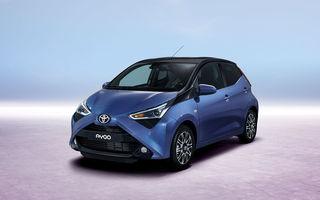 Toyota Aygo facelift este disponibil în România: start de la 9.650 de euro