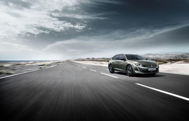Peugeot lansează seria limitată 508 SW First Edition: aspect sportiv și dotări de top pentru break-ul producătorului francez - Poza 5