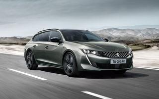 Peugeot lansează seria limitată 508 SW First Edition: aspect sportiv și dotări de top pentru break-ul producătorului francez