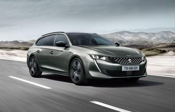 Peugeot lansează seria limitată 508 SW First Edition: aspect sportiv și dotări de top pentru break-ul producătorului francez - Poza 1