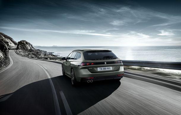 Peugeot lansează seria limitată 508 SW First Edition: aspect sportiv și dotări de top pentru break-ul producătorului francez - Poza 4