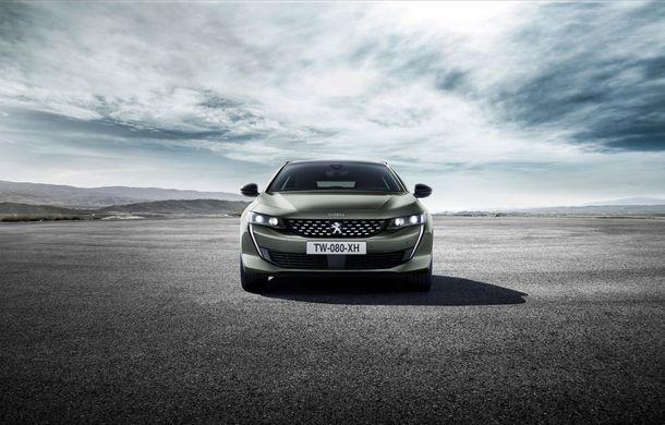 Peugeot lansează seria limitată 508 SW First Edition: aspect sportiv și dotări de top pentru break-ul producătorului francez - Poza 7