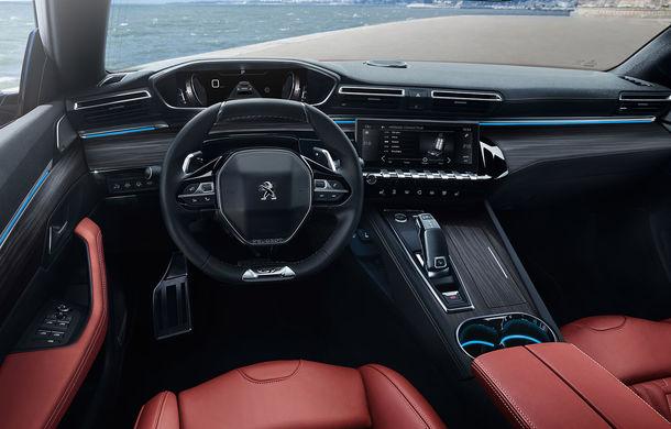 Peugeot lansează seria limitată 508 SW First Edition: aspect sportiv și dotări de top pentru break-ul producătorului francez - Poza 16