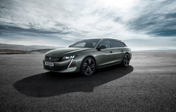 Peugeot lansează seria limitată 508 SW First Edition: aspect sportiv și dotări de top pentru break-ul producătorului francez - Poza 8