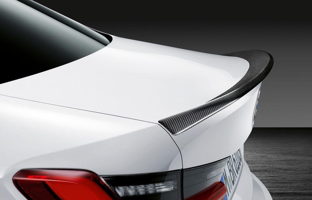 Accesorii M Performance pentru noul Seria 3: BMW a pregătit elemente de caroserie și accesorii de interior derivate din cele folosite pe mașinile de competiție - Poza 9