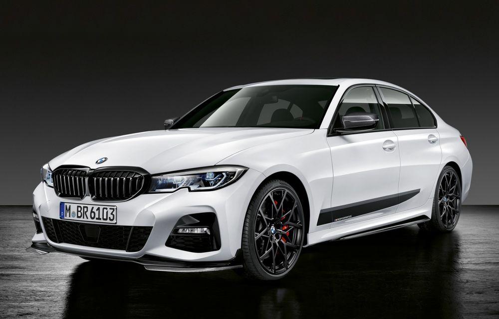 Accesorii M Performance pentru noul Seria 3: BMW a pregătit elemente de caroserie și accesorii de interior derivate din cele folosite pe mașinile de competiție - Poza 4
