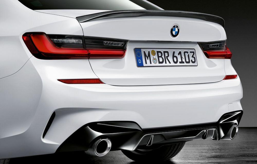 Accesorii M Performance pentru noul Seria 3: BMW a pregătit elemente de caroserie și accesorii de interior derivate din cele folosite pe mașinile de competiție - Poza 8