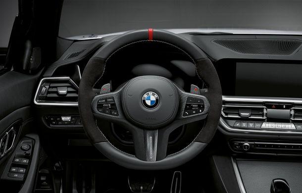 Accesorii M Performance pentru noul Seria 3: BMW a pregătit elemente de caroserie și accesorii de interior derivate din cele folosite pe mașinile de competiție - Poza 15