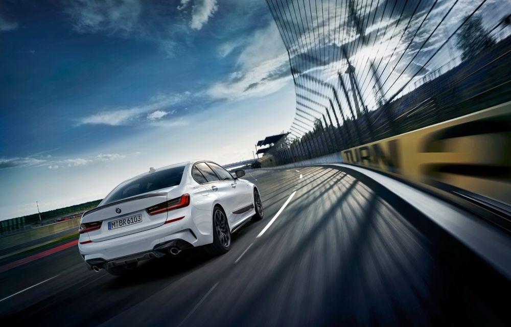 Accesorii M Performance pentru noul Seria 3: BMW a pregătit elemente de caroserie și accesorii de interior derivate din cele folosite pe mașinile de competiție - Poza 2
