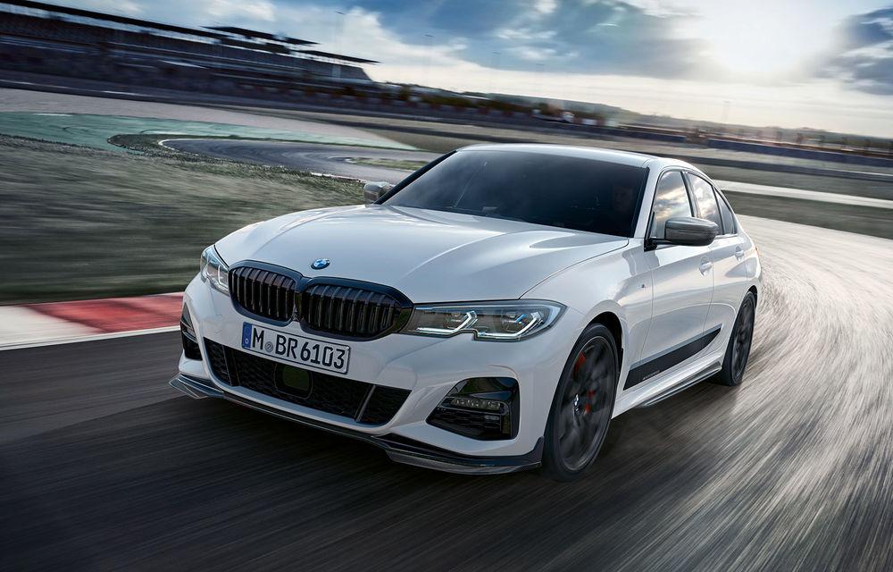Accesorii M Performance pentru noul Seria 3: BMW a pregătit elemente de caroserie și accesorii de interior derivate din cele folosite pe mașinile de competiție - Poza 1