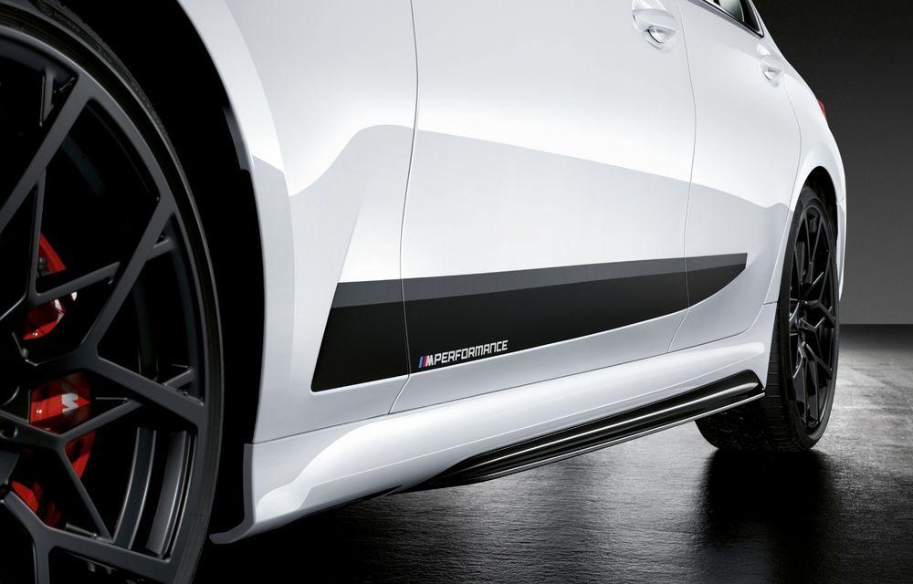 Accesorii M Performance pentru noul Seria 3: BMW a pregătit elemente de caroserie și accesorii de interior derivate din cele folosite pe mașinile de competiție - Poza 11