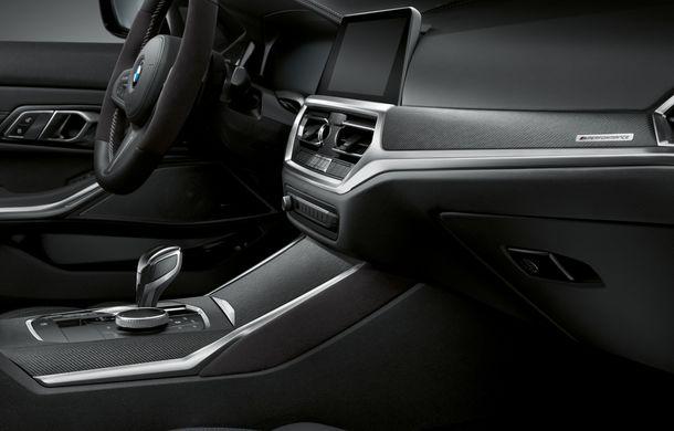 Accesorii M Performance pentru noul Seria 3: BMW a pregătit elemente de caroserie și accesorii de interior derivate din cele folosite pe mașinile de competiție - Poza 13