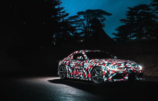 Noua generație Toyota Supra debutează în cadrul Salonului Auto de la Detroit: fanii din Germania pot rezerva modelul prin intermediul unei platforme online - Poza 1