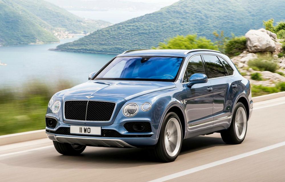 Povestea de iubire s-a încheiat: în Europa, Bentley renunță la versiunea Bentayga echipată cu motorul diesel V8 - Poza 1