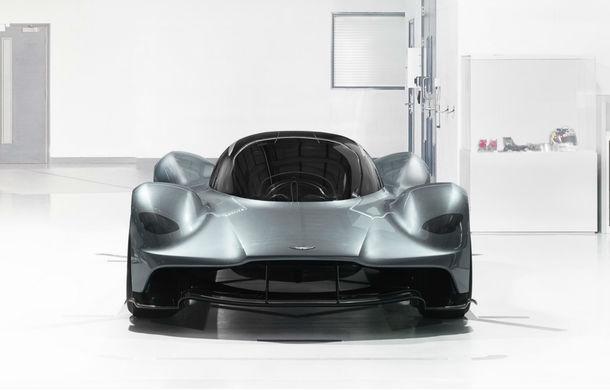 Proba de sunet care îți ridică părul pe mâini: motorul V12 de 6.5 litri de pe Aston Martin Valkyrie - Poza 1