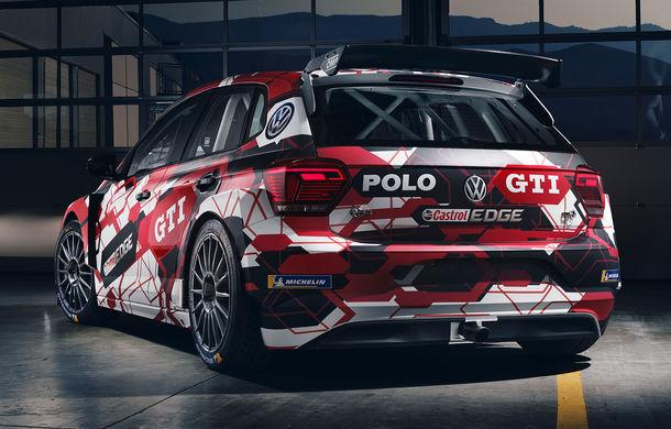 Volkswagen Polo GTI R5 îmbracă hainele de competiție: modelul destinat raliurilor debutează la finalul lunii octombrie în cadrul etapei din Spania - Poza 4