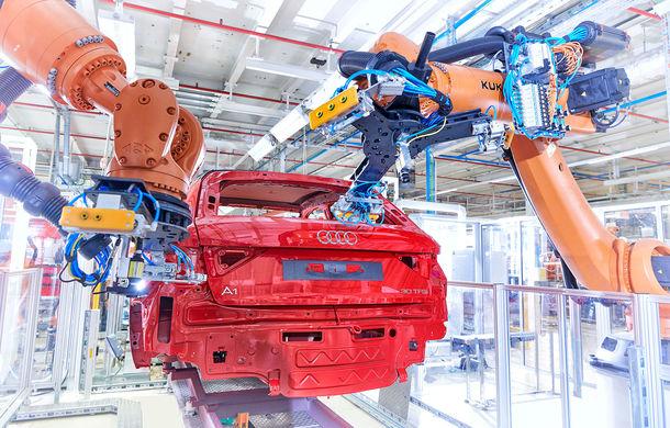 Noua generație Audi A1 Sportback a intrat în producție: modelul de clasă mică este asamblat la uzina Seat din Martorell - Poza 6