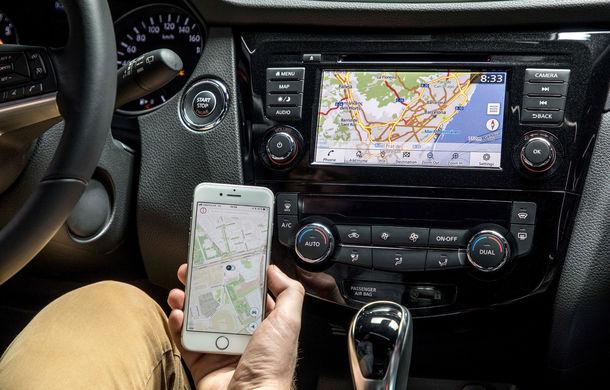 Nissan Qashqai primește noua versiune a sistemului de infotainment NissanConnect: aplicații noi și update-uri prin internet - Poza 5