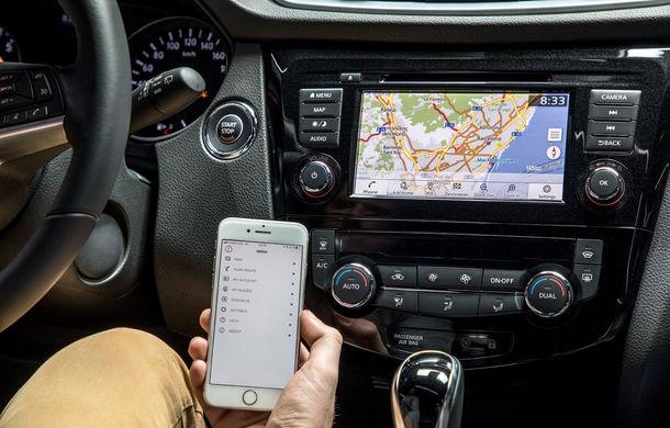 Nissan Qashqai primește noua versiune a sistemului de infotainment NissanConnect: aplicații noi și update-uri prin internet - Poza 6