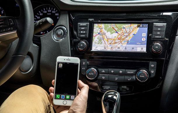 Nissan Qashqai primește noua versiune a sistemului de infotainment NissanConnect: aplicații noi și update-uri prin internet - Poza 4