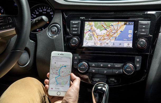 Nissan Qashqai primește noua versiune a sistemului de infotainment NissanConnect: aplicații noi și update-uri prin internet - Poza 7