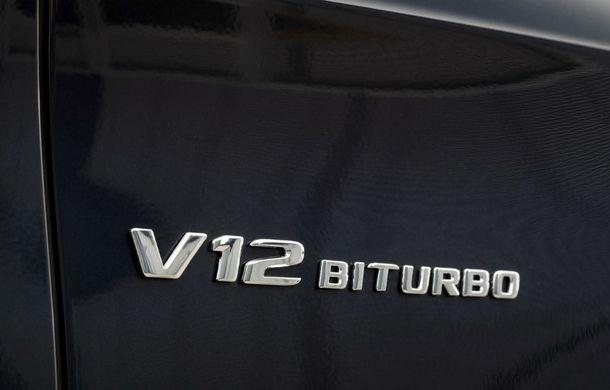 Pe patul de moarte: Mercedes-AMG nu mai are în plan dezvoltarea unor versiuni cu motor V12 - Poza 1