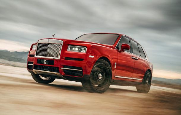 SUV-ul Rolls-Royce Cullinan ar putea primi o versiune cu sistem hibrid de propulsie: britanicii nu exclud și lansarea unui frate mai mic - Poza 1