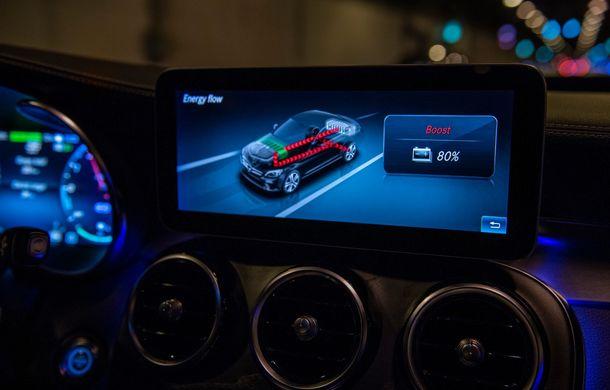 Detalii despre versiunea Mercedes-Benz C300de: plug-in hybrid diesel-electric cu 306 CP și autonomie electrică de până la 57 de kilometri - Poza 30