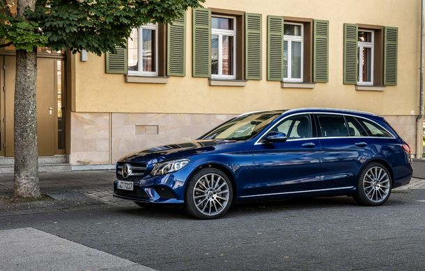 Detalii despre versiunea Mercedes-Benz C300de: plug-in hybrid diesel-electric cu 306 CP și autonomie electrică de până la 57 de kilometri - Poza 9