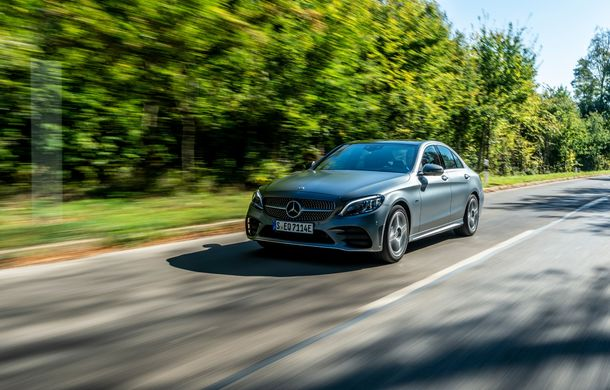 Detalii despre versiunea Mercedes-Benz C300de: plug-in hybrid diesel-electric cu 306 CP și autonomie electrică de până la 57 de kilometri - Poza 17
