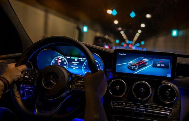 Detalii despre versiunea Mercedes-Benz C300de: plug-in hybrid diesel-electric cu 306 CP și autonomie electrică de până la 57 de kilometri - Poza 31