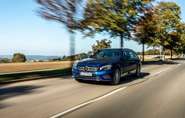 Detalii despre versiunea Mercedes-Benz C300de: plug-in hybrid diesel-electric cu 306 CP și autonomie electrică de până la 57 de kilometri - Poza 2