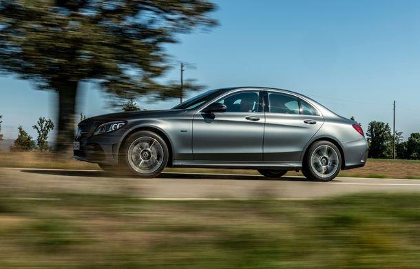 Detalii despre versiunea Mercedes-Benz C300de: plug-in hybrid diesel-electric cu 306 CP și autonomie electrică de până la 57 de kilometri - Poza 21