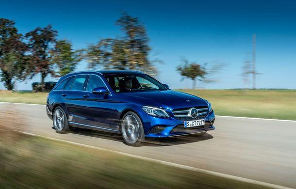 Detalii despre versiunea Mercedes-Benz C300de: plug-in hybrid diesel-electric cu 306 CP și autonomie electrică de până la 57 de kilometri - Poza 6