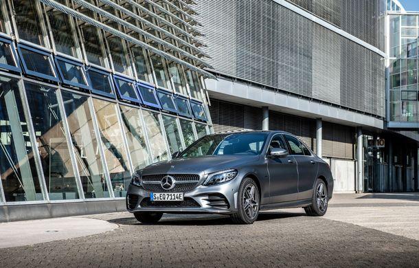 Detalii despre versiunea Mercedes-Benz C300de: plug-in hybrid diesel-electric cu 306 CP și autonomie electrică de până la 57 de kilometri - Poza 22