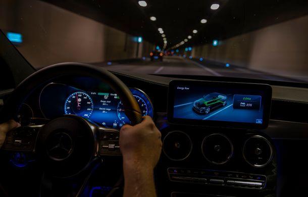 Detalii despre versiunea Mercedes-Benz C300de: plug-in hybrid diesel-electric cu 306 CP și autonomie electrică de până la 57 de kilometri - Poza 32