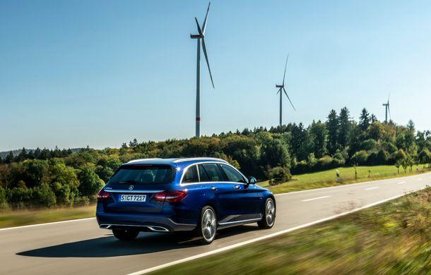 Detalii despre versiunea Mercedes-Benz C300de: plug-in hybrid diesel-electric cu 306 CP și autonomie electrică de până la 57 de kilometri - Poza 5