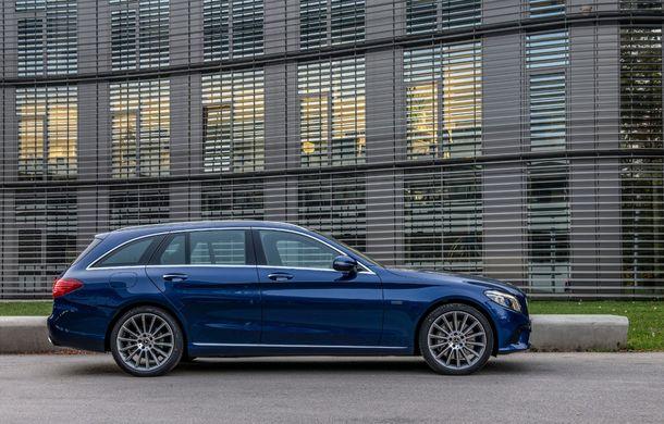 Detalii despre versiunea Mercedes-Benz C300de: plug-in hybrid diesel-electric cu 306 CP și autonomie electrică de până la 57 de kilometri - Poza 12