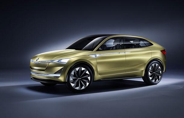 Informații despre versiunea de serie a conceptului Skoda Vision E: SUV-ul electric va fi disponibil în două variante de caroserie - Poza 1