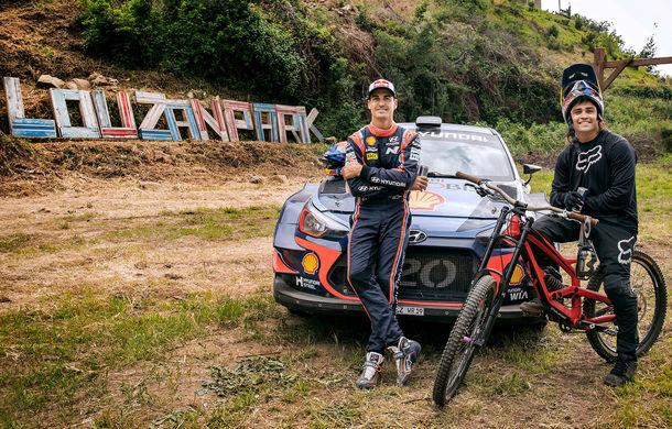 Cursă neobișnuită: un Hyundai i20 WRC și o bicicletă se întrec în inima Portugaliei - Poza 14