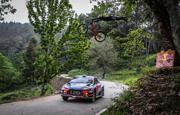 Cursă neobișnuită: un Hyundai i20 WRC și o bicicletă se întrec în inima Portugaliei - Poza 10