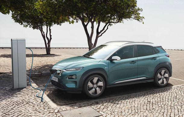 Hyundai Kona EV, succes peste așteptări în primul an de lansare: SUV-ul electric va ajunge la 11.000 de clienți până la sfârșitul anului - Poza 1
