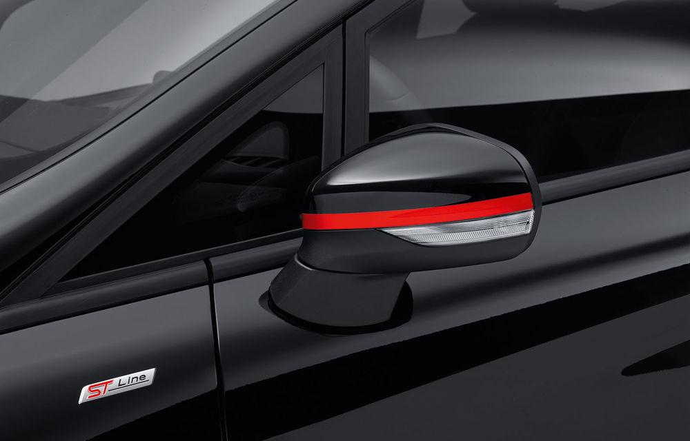 Îmbunătățiri pentru Ford Fiesta: modelul de clasă mică este disponibil în versiunile Red și Black Edition - Poza 4