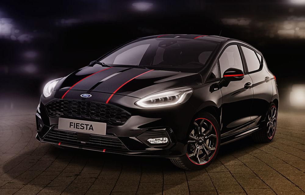 Îmbunătățiri pentru Ford Fiesta: modelul de clasă mică este disponibil în versiunile Red și Black Edition - Poza 1