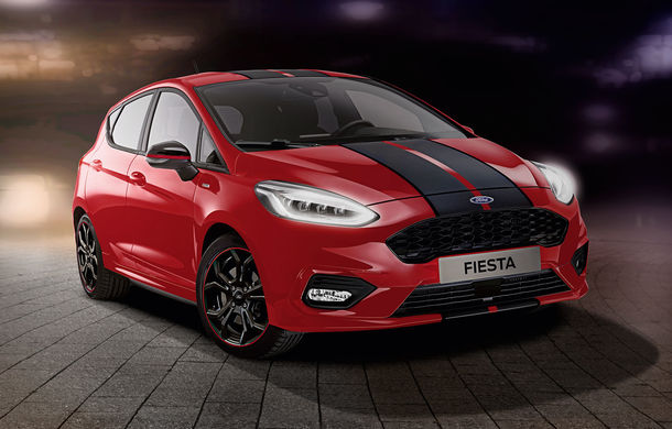 Îmbunătățiri pentru Ford Fiesta: modelul de clasă mică este disponibil în versiunile Red și Black Edition - Poza 2