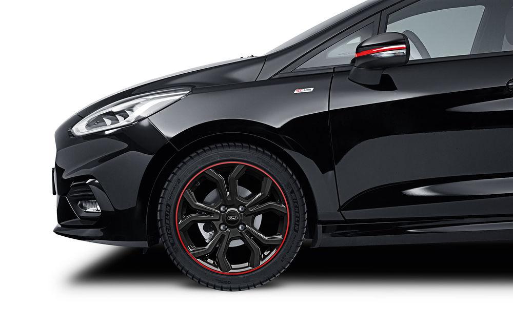 Îmbunătățiri pentru Ford Fiesta: modelul de clasă mică este disponibil în versiunile Red și Black Edition - Poza 3