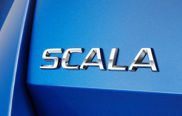 Skoda Scala este numele hatchback-ului compact care va înlocui Rapid Spaceback: noul rival al lui Volkswagen Golf vine în acest an - Poza 1