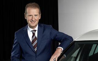 """Șeful VW, despre constructorii germani: """"Avem doar 50% șanse să rămânem în fruntea industriei auto dacă nu ne adaptăm tendințelor pieței"""""""