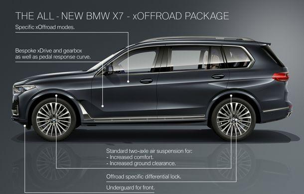 Oficial: BMW X7 se prezintă. Cel mai mare SUV din gama bavarezilor oferă 7 locuri și motorizări de până la 400 CP în Europa - Poza 59